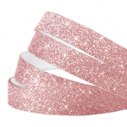 Crystal glitter tape 10mm Vintage pink