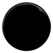 35 mm platte cabochons Polaris Elements pearl shine Black