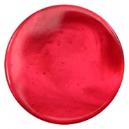 35 mm platte cabochons Polaris Elements pearl shine Jester red
