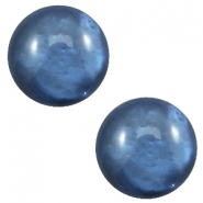 20 mm classic cabochon Polaris Elements pearl shine Night blue