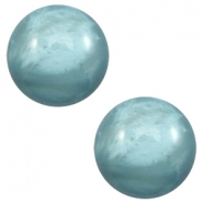 20 mm classic cabochon Polaris Elements pearl shine Dark sea blue