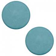 20 mm platte cabochon Polaris Elements matt Dark sea blue