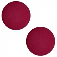 12 mm platte cabochon Polaris Elements matt Velvet purple