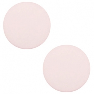 20 mm platte cabochon Polaris Elements matt Tea rose pink