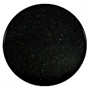 35 mm platte cabochons Super Polaris Black