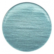35 mm platte cabochons Super Polaris Dark sea blue