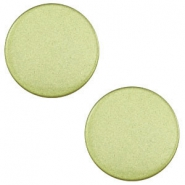 12 mm platte cabochon Super Polaris Salvia green