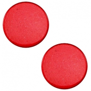 20 mm platte cabochon Super Polaris Jester red