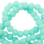 Sparkling beads 6mm Turquoise