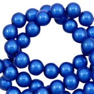 Miracle 3D kralen 4mm Cobalt blue