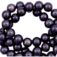 Miracle 3D kralen 10mm Dark lilac purple