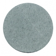 DQ leer cabochons 35mm Grey