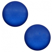12 mm Classic cabochon Super Polaris matt Cobalt blue