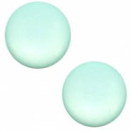 12 mm Classic cabochon Super Polaris matt Anise green