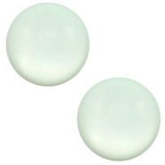 12 mm Classic cabochon Super Polaris matt Gossamer green