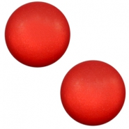 7 mm Classic cabochon Super Polaris matt Candy red