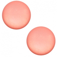 12 mm Classic cabochon Super Polaris matt Salmon rose