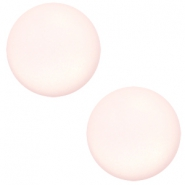 12 mm Classic cabochon Super Polaris matt Whisper pink