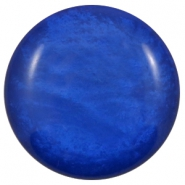 35 mm Classic cabochons Polaris Elements Mosso shiny Cobalt blue