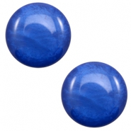 12 mm Classic cabochon Polaris Elements Mosso shiny Cobalt blue