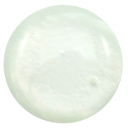 35 mm Classic cabochons Polaris Elements Mosso shiny Pastel azore green