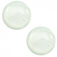 7 mm Classic cabochon Polaris Elements Mosso shiny Pastel azore green