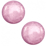 12 mm Classic cabochon Polaris Elements Mosso shiny Light mauve purple