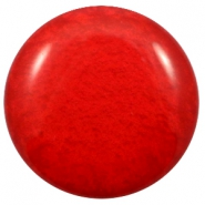 35 mm Classic cabochons Polaris Elements Mosso shiny Candy red