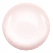 35 mm Classic cabochons Polaris Elements soft tone shiny Soft light rose