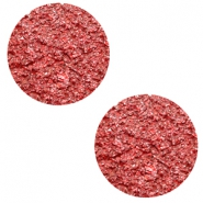 12 mm platte cabochon Polaris Elements Goldstein Candy red