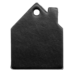 DQ leer hangers huis Midnight black