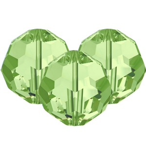 Swarovski Elements facet kralen 8mm Peridot green