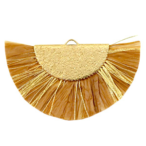 Kwastjes hanger Gold-Golden brown