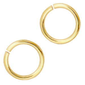 DQ 8 mm buigring DQ Gold plated duurzame plating