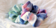 NEW IN! Kleurrijke watercolour scrunchies
