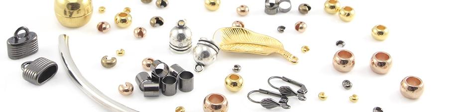 Onderdelen voor sieraden van metaal DQ